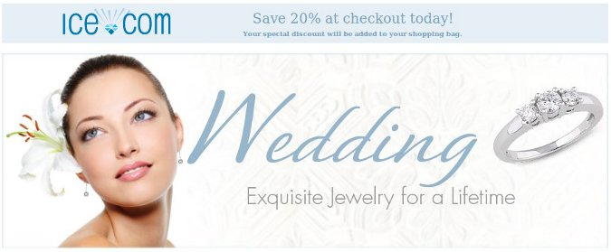 ice wedding jewelry