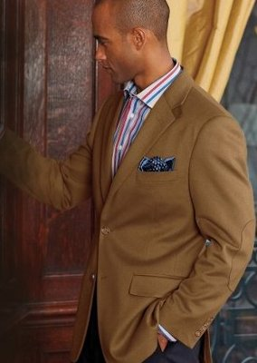 italian wool cashmere two-button sportcoat