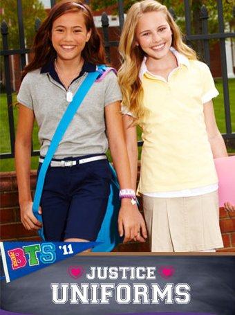 justice uniforms