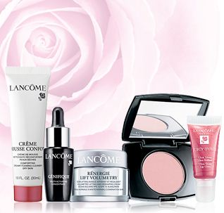 lancome exclusive sample offer
