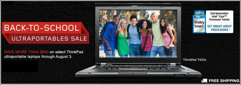 lenovo back to school sale