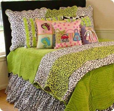leopard fancy bedding