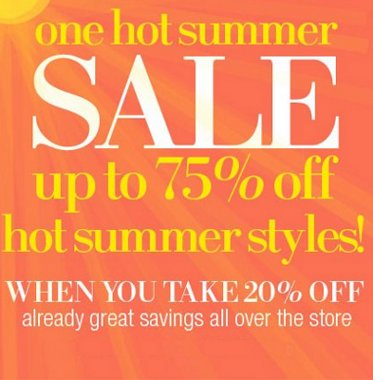 lord & taylor one hot summer sale