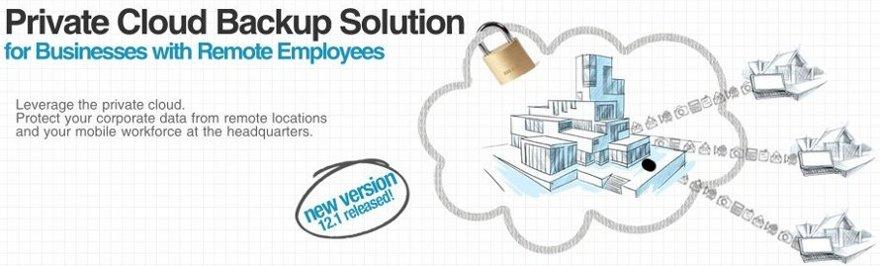 novastor private cloud backup
