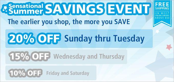 office max sensational summer savings event