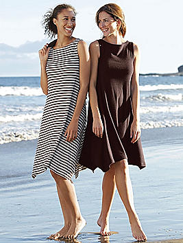 Organic Cotton Terry Tank Dress