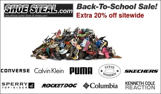 shoesteal back to school sale