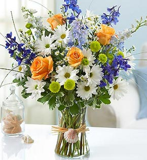 summer flower bouquet