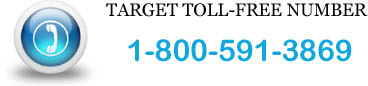target toll-free number