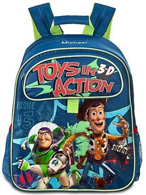 Personalized Toy Story Backpack