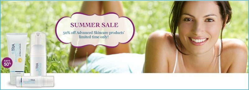tria beauty summer sale
