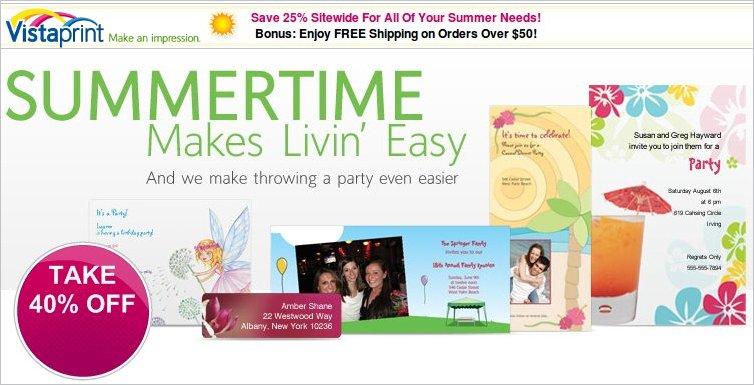 vistaprint site-wide savings