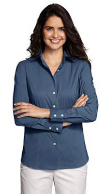 womens long sleeve modern stretch blouse