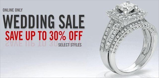 zales wedding sale