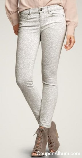 1969 mid-weight cheetah print legging jeans