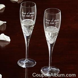 Galway Irish Crystal Champagne Flutes