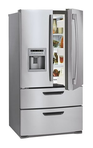 LG French Door Refrigerator with Thru-the-Door Ice and Water