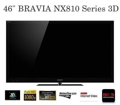 Sony 46 BRAVIA NX810 Series 3D