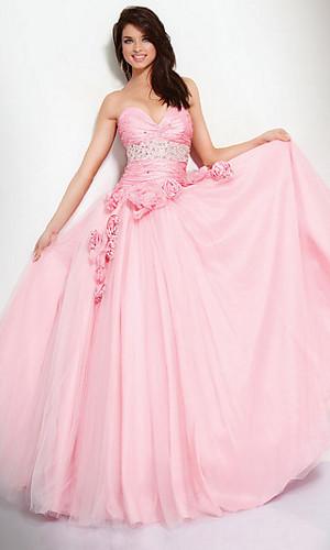 Strapless Jovani Prom Dress