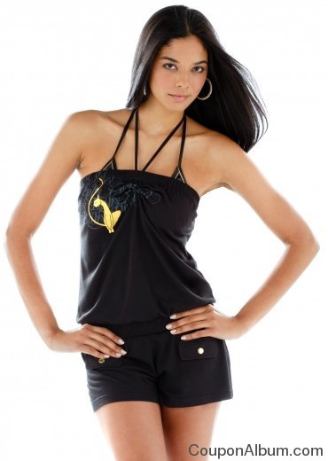 baby phat jersey romper cover-up