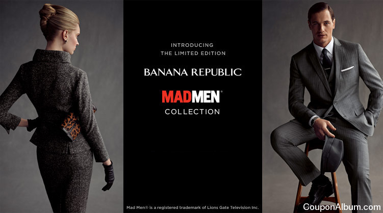 "Jun 22,  · The centerpiece of the new promotion is a collection of men's and women's fashions, to be sold in Banana Republic stores and online, based on how the characters on ""Mad Men"" look."