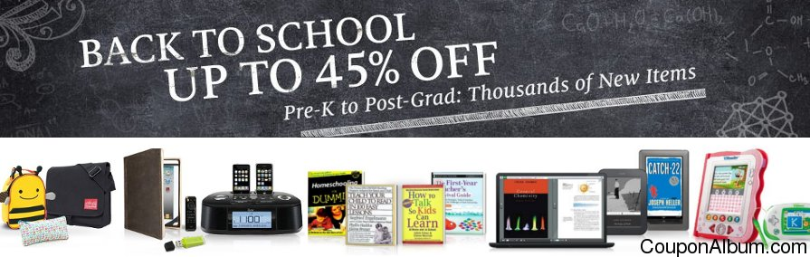 barnes & noble back to school sale