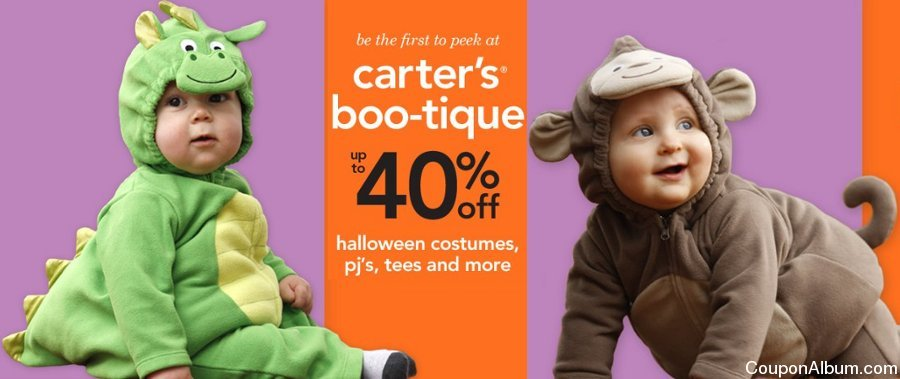 carters halloween costumes