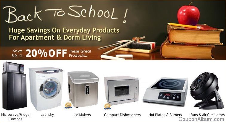 compact appliance back to school savings