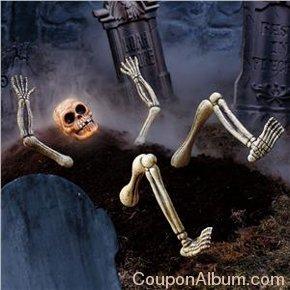cordless life-size light-up skeleton