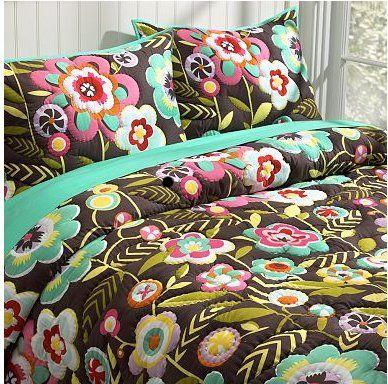 cottage garden quilt & sham