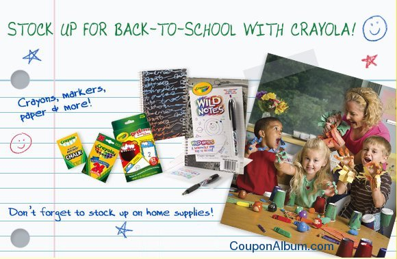 crayola back to school supplies