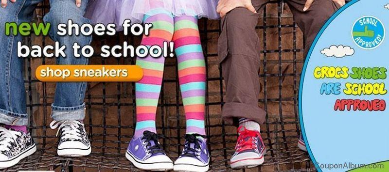 crocs back to school shoes