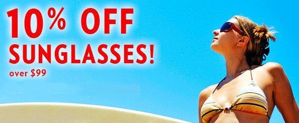 discount on sunglasses