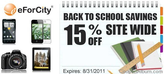eforcity back to school savings