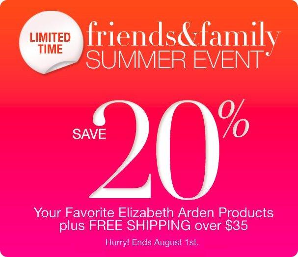 elizabeth arden summer event