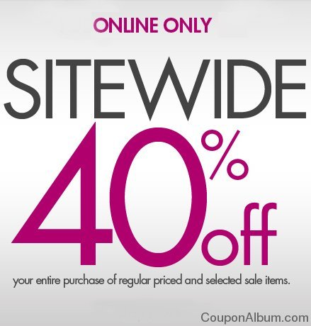 fashion bug sitewide offer
