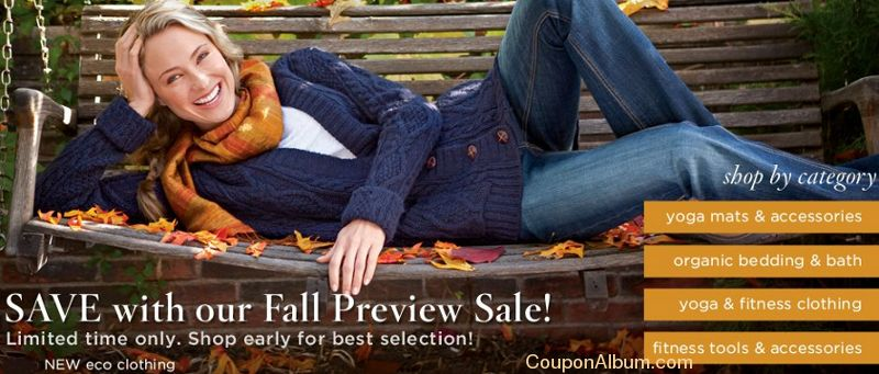 20baf1fbcd46 Gaiam Fall Preview Sale and more..!