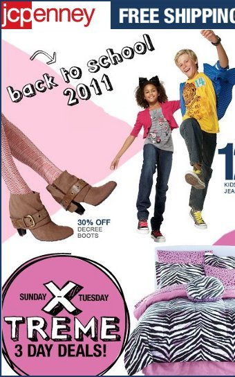 jc penney back to school