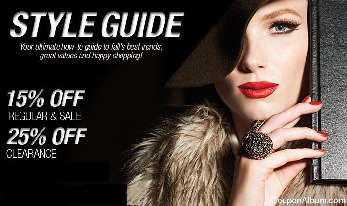lord and taylor fall guide
