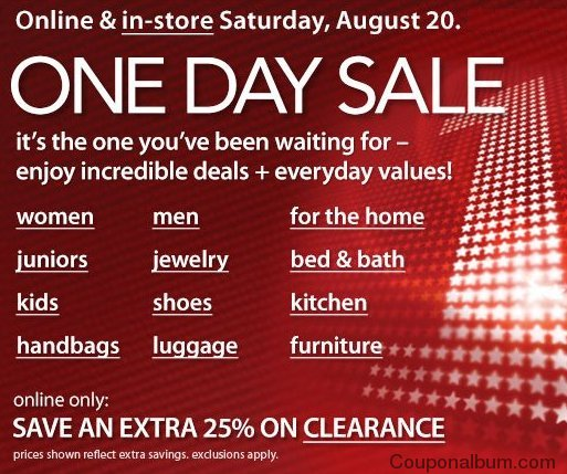 sale. Macy's is offering some more