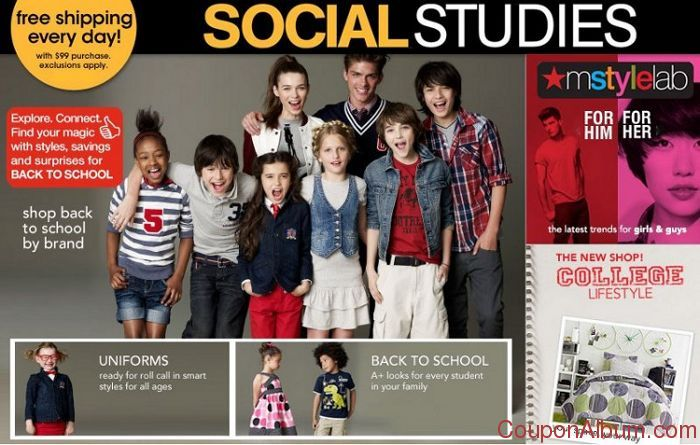 macys back to school coupon