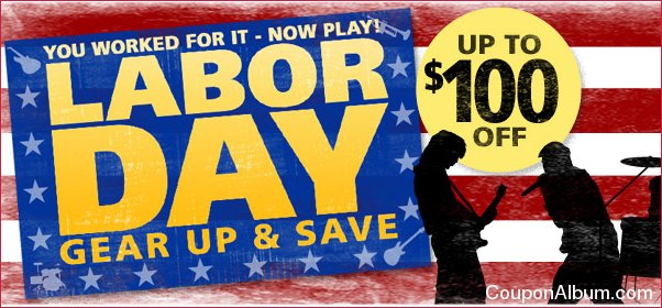 musicians friend labor day sale