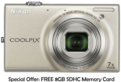 nikon coolpix s6100 digital camera