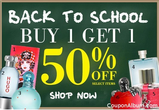 perfumania back to school sale
