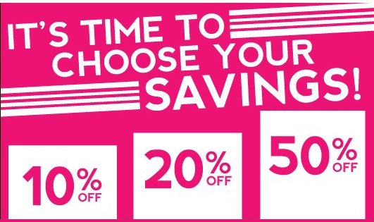 perfumania choose your savings-offer