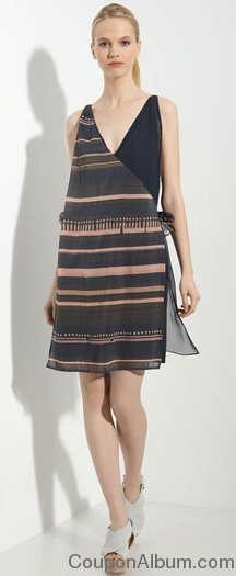 phillip lim faux wrap dress