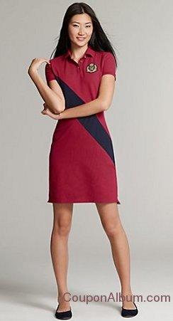 pieced-polo-dress