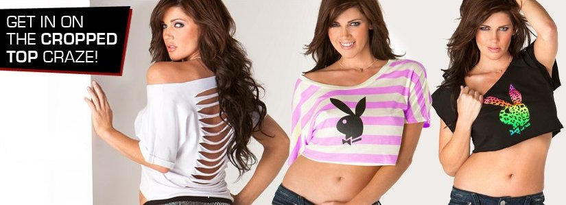 playboy store tops