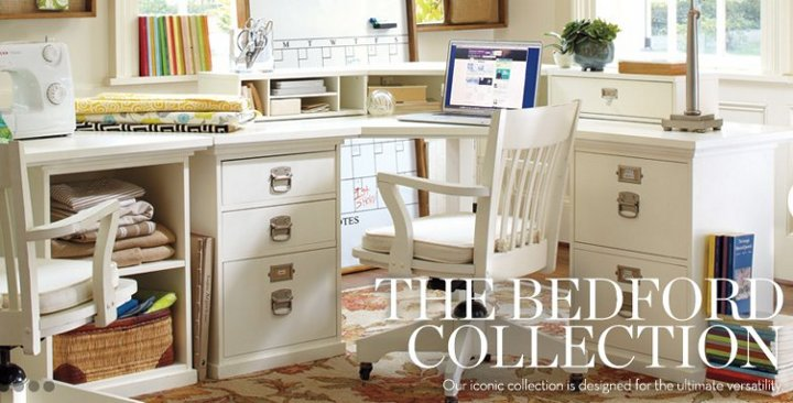 pottery barn bedford collection