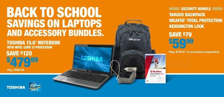 radioshack back to school deal
